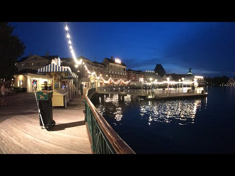 🔴 LIVE:  Epcot Resort Loop! 🌐✨🐭 || Disney's Boardwalk, Yacht & Beach Club ⚓️🛳🌙