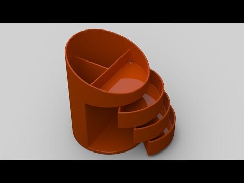 SolidWorks Tutorial: Pen Holder (Part 1)