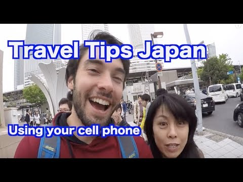 Travel Tips Japan / Using your cell phone