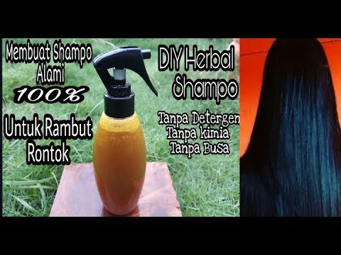 Diy HOMEMADE HERBAL SHAMPOO Get long hair,Shiny hair,fast hair grow,healthy hair