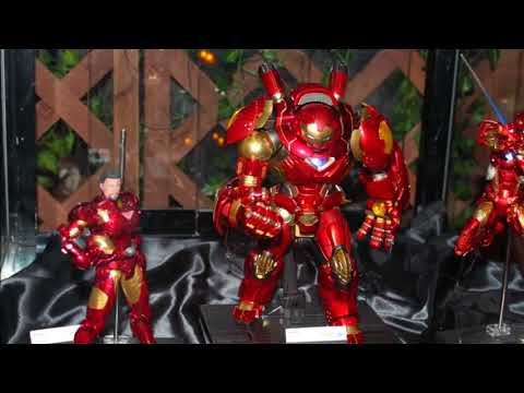 Toyfair NY 2018 (SAO electronic sword, exclusive DC and Marvel statues, Overwatch, Gundam and more)