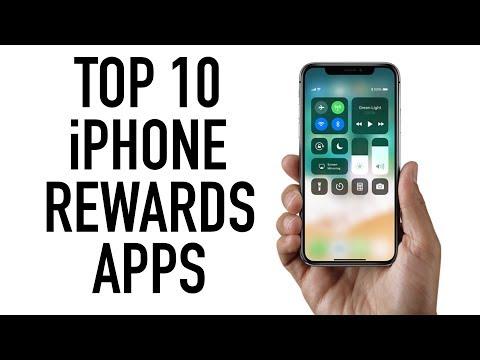 TOP 10 iPHONE REWARDS APPS
