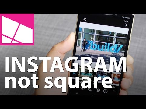 How to upload a non-square photo to Instagram with Windows Phone