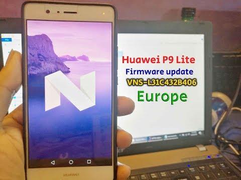 Huawei P9 Lite VNS-L31 Firmware Nougat B406 (Europe-Dual Sim)