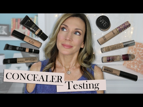 Testing Undereye Concealers for Mature Skin!