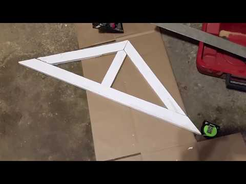 How to Build a Decorative Gable for less than $10 Bucks