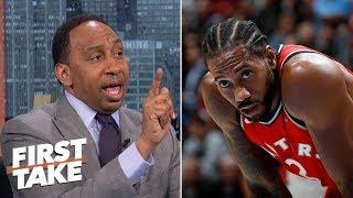 Kawhi Leonard wouldn't mesh with LeBron on the Lakers – Stephen A.    First Take
