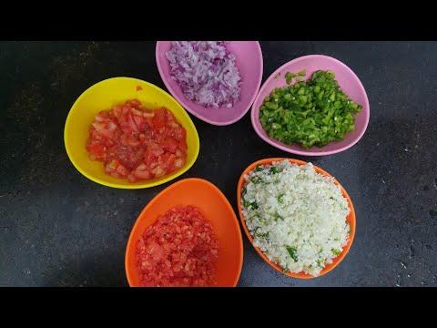 प्याज़ टमाटर गाजर मूली मिनटों में बारीक काटें / How to chop/cut vegetables fast /Anupama Jha