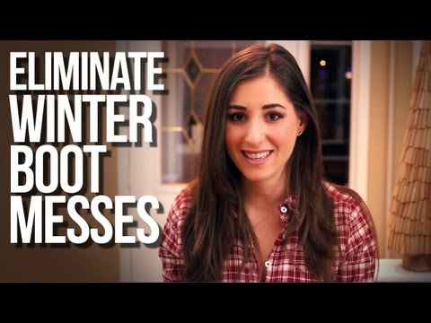 Eliminate Winter Boot Messes! | Day 2 of The 12 Days Of Clean! (Clean My Space)