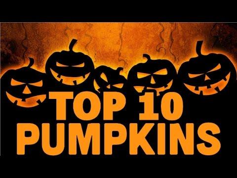 TOP 10 DIY HALLOWEEN PUMPKINS | PUMPKIN CARVING IDEAS VIDEO {{VlogGrrr}}