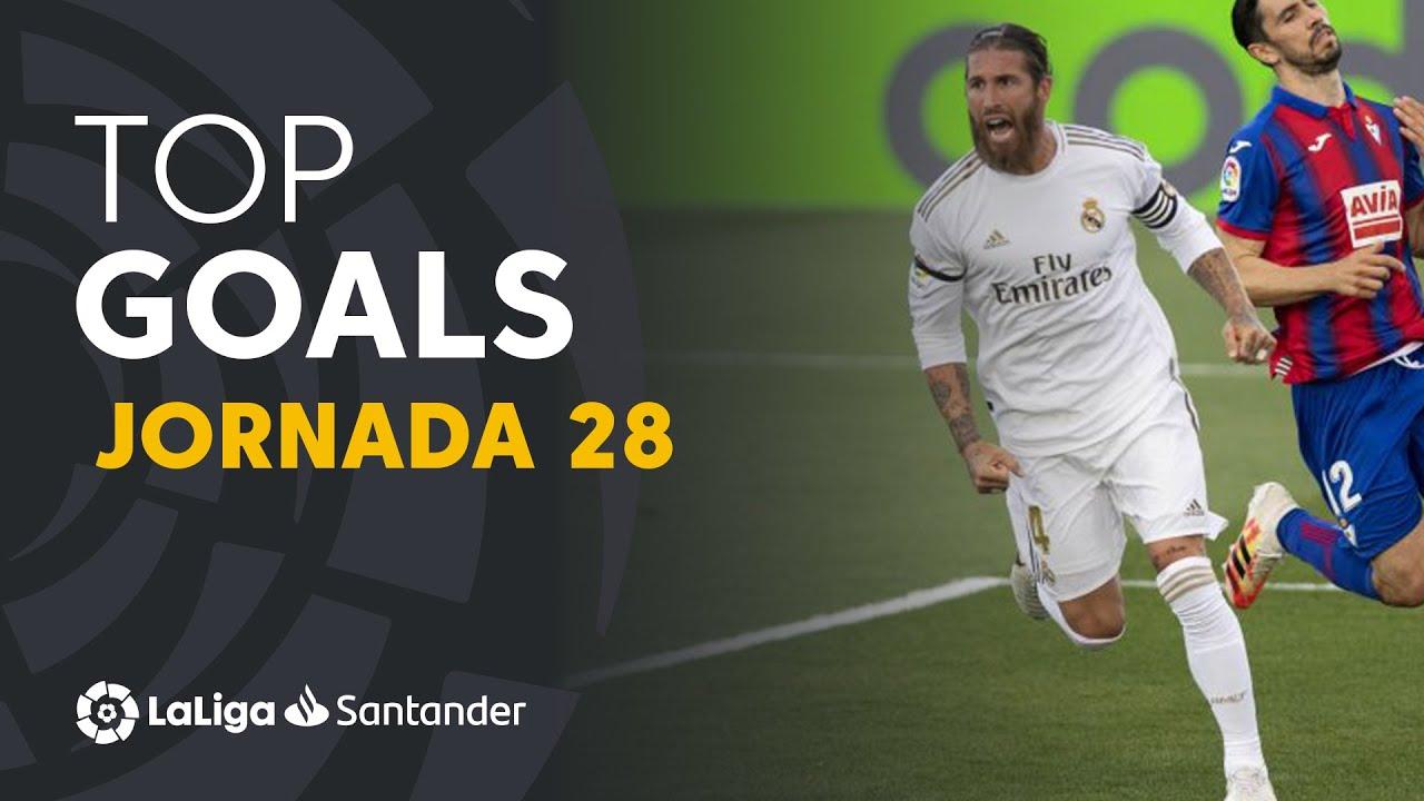 Todos los goles de la Jornada 28 de LaLiga Santander 2019/2020