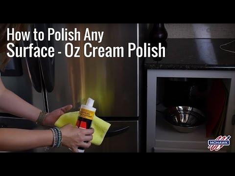 How to Polish Any Surface - OZ Cream Polish