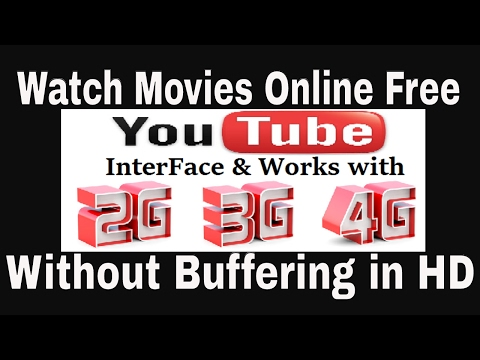 How to watch Free Movies Online without Buffering (Free Download) [HD] || Youtube Interface