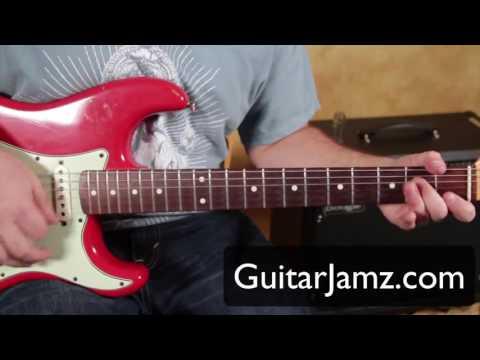 Jimi Hendrix Blues Guitar Lesson plus 2 Backing Tracks By Marty Schwartz