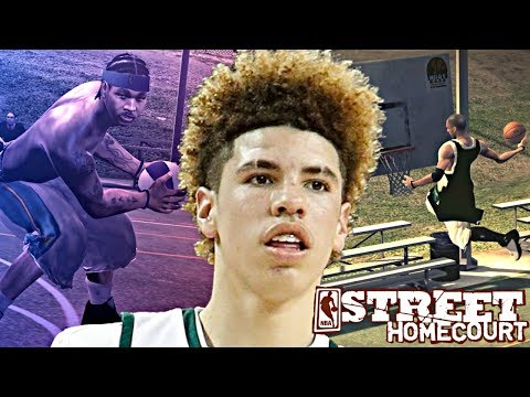 NBA STREET HOMECOURT LAMELO BALL #2 - PULLED UP ON CARMELO ANTHONY DUNKS ONLY GAME! DOUBLE DUNKS!