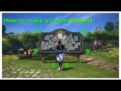 How to make gil in ffxiv with (fisher)