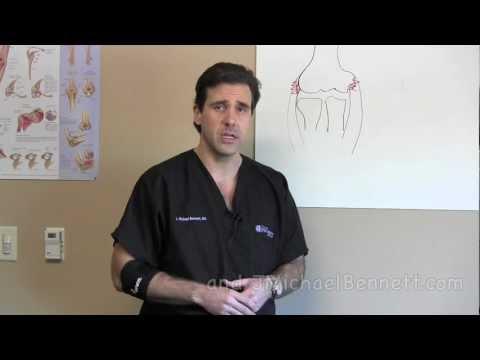 How to Use an Elbow Brace - Golfers Elbow Tennis Elbow - Houston Dr. J. Michael Bennett