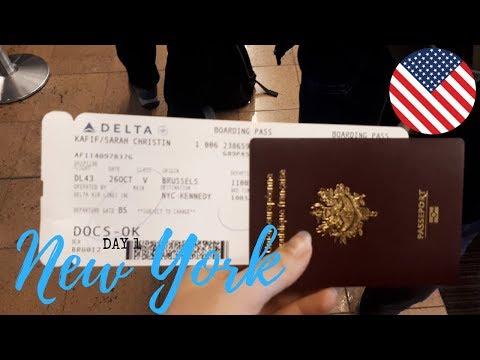 SOLO TRAVELING TO THE USA | NEW YORK TRAVEL VLOG 🇺🇸