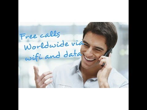 Free voice call using internet (Data/WiFi)