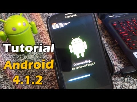[Tutorial] Android Jelly Bean 4.1.2 Oficial Galaxy S3