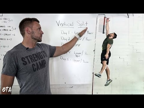 Best Training Split for a Higher Vertical Jump