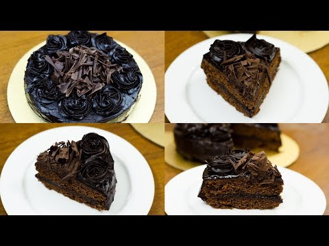 EGGLESS CHOCOLATE TRUFFLE CAKE l WITHOUT OVEN By N'Oven