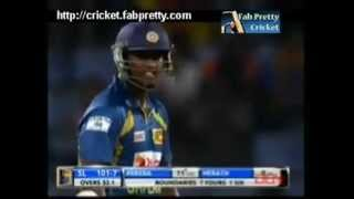 Thisara Perera 34 Runs in 1 Over Against Robin Peterson