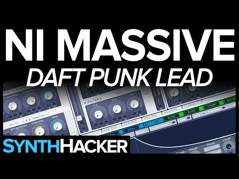 Massive Tutorial - Daft Punk 'Derezzed' Synth Lead