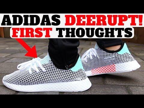 $100 adidas DEERUPT RUNNER First Thoughts!