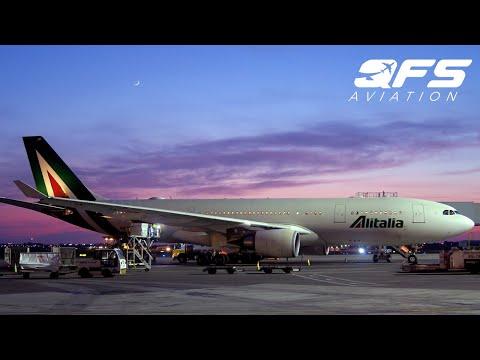 TRIP REPORT   Alitalia - A330 200 - New York (JFK) to Rome (FCO)   Business Class