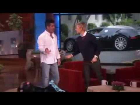 Simon Cowell's Incredible Car on Ellen show