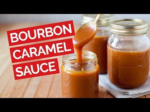 Bourbon-Caramel Dipping Sauce Recipe (Corn Syrup Free)