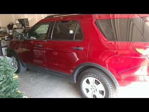 No more 2005 Hyundai Santa Fe videos. Say hello to the 2013 Ford Explorer 😁