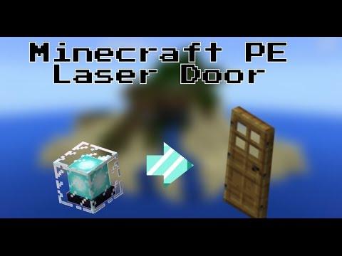 Minecraft PE: Laser Door