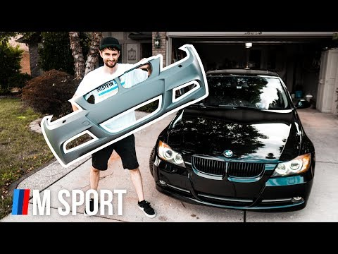 WILL IT FIT?! | E90 BMW M Sport Conversion PART 1