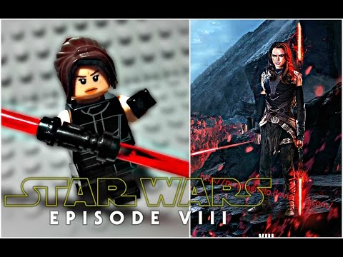 LEGO Star Wars Episode 8 The Last Jedi - Dark Side Rey Minifigure Review