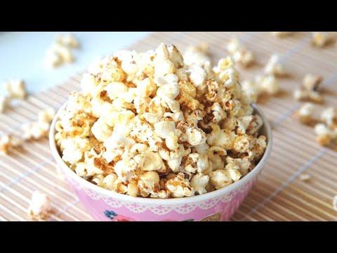 How to make Popcorn | Homemade | Honey & Milk | Sugar-free Popcorn