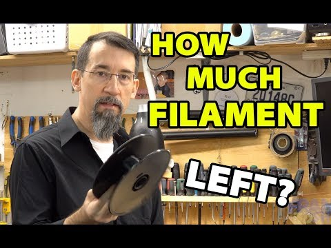 Find How Much Filament is Left on a Roll
