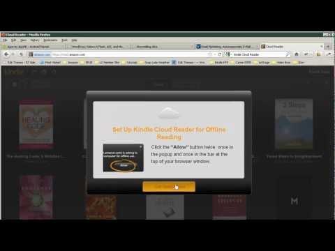 Amazon Cloud Reader App Video