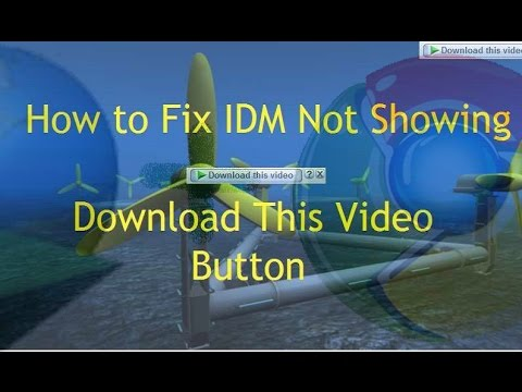 ►How To Fix IDM Not Showing Download Bar In Youtube Google Chrome, idm not working windows 10 2018