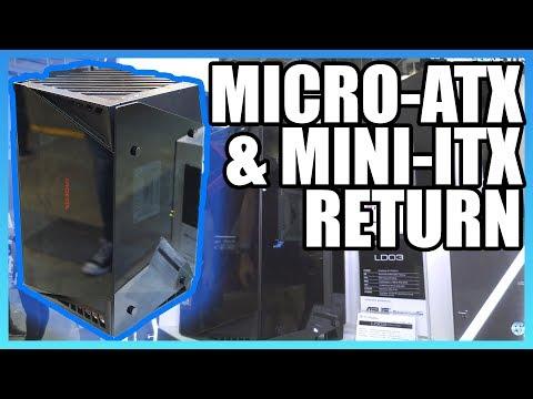 SilverStone Micro-ATX & Mini-ITX Cases | LD03, PS15 Computex 2018