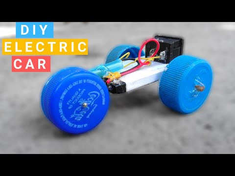 How to Make a Electric Toy Car at Home Very Easy
