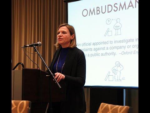 The Ombudsman's new university oversight