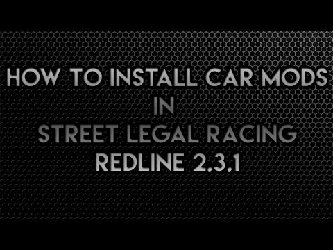 How to install cars in Street Legal Racing Redline 2.3.1