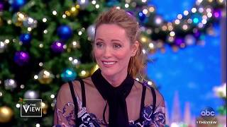 Leslie Mann On Steve Carrell And Her Kids In The Industry | The View