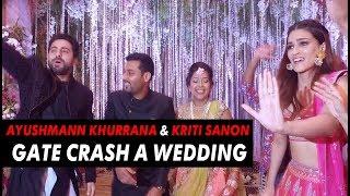 Ayushmann Khurrana & Kriti Sanon crash a wedding | Bareilly Ki Barfi