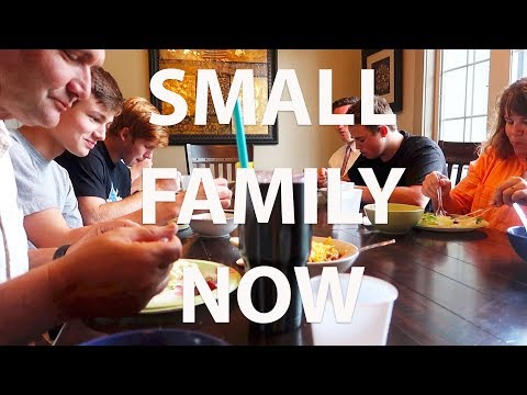 MY FAMILY IS GETTING SMALLER