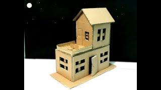 Cara Membuat Miniatur Rumah Joglo Dari Kardus Sekitar Rumah