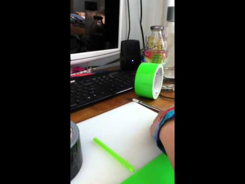 How to make duct tape portable