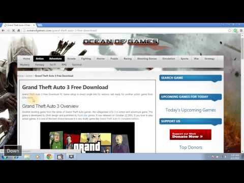 how to download and install GRAND THEFT AUTO 3 Pc FREE